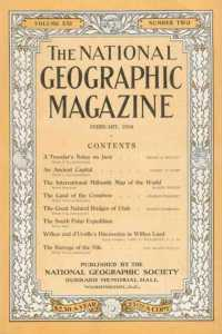 This appears to be the first issue of National Geographic to use the yellow border. Date: February 1910. A complete library of covers can be found at: http://shortlink.info/?7d761204